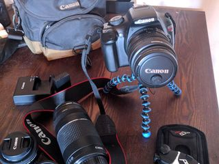 Canon EOS Rebel T3 в идеальном+доп.объективы