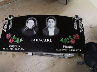 Cele mai frumoase si mai durabile monumente funerare din Moldova.