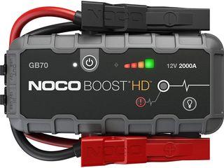 Jump starter Noco Boost GB70 2000A 8L benzina 6L motorina Made in Malaysia