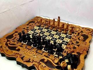 В наличие нарды резные шахматы картина*Крепости с Ангелами*эксклюзив