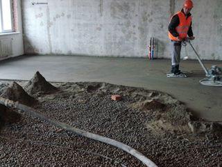 Steajca,Термоизоляционный слой цементопласта + стяжка