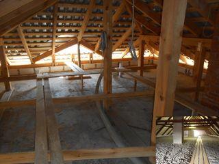 Termoizolare acoperisului mansardei  cu Ekoceluloza termica alegeti doar profesionisti..!