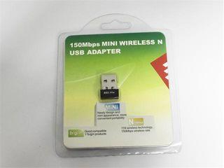 70 Лей - 150M WIFI USB wireless network LAN Adapter Card 802.11n MiniUSB