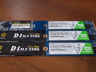 Новые SSD m.2 (120GB-240GB)
