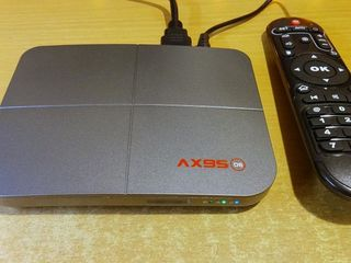 Новый Smart TV Box AX95 DB amlogic s905x3,4Gbx32Gb ,на ATV 9 прошивка 0.4.0 от Ugoos x3pro -1800 MDL