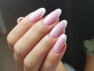 Alungirea unghilor  +shellac calitativ /наращивание ногтей : коррекция ;лак-гель    чеканы