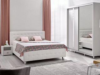 Dormitor Ambianta Rio (alb) Livrare gratuită!