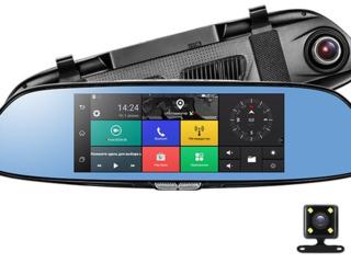 Акция!Зеркало на Андроиде GPS,Wifi,3G с -2 камерами. Доставка бесплатная!Кредит!