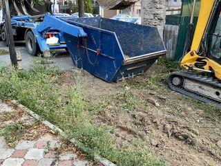 Вывоз мусора 8m3 контейнер skip строй мусор