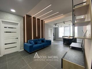 Club House! Buiucani, str. C. Brîncoveanu, 3 camere + living! Euroreparație!