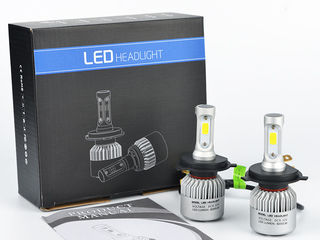 Super Oferta Kit lampi LED Garantie 6 luni, 55W, 6500K, 16000 LM  livrare  autoled.md
