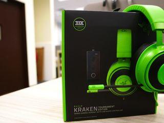 Наушники Razer Kraken Tournament Edition Green