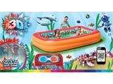 Детский бассейн с 3D рисунком Бассейн Bestway 54114