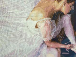 Прекрасная балерина dimensions