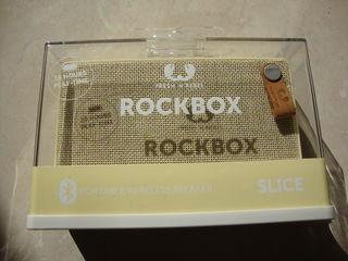 Boxa portabila rockbox fresh n rebel nou sigilat model slice putere 6w 380g acumulator 1400 mah