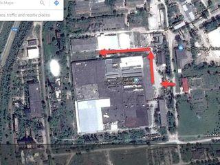 - Земельный участок площадью 0,5 га. под производство, склады 7000 кв.м.