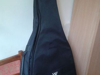 Утеплённый чехол для гитары новый !