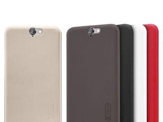 HTC One A9 чехол Nillkin Frosted Shield, защитная плёнкаа