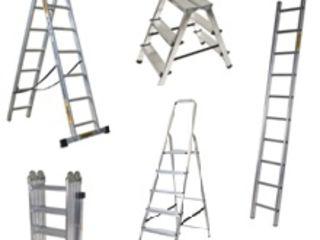 Scari metalice pentru diferite necesitati Стремянка лестница алюминиевая