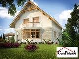 Дом в белом варианте - от 420 евро за 1 м2