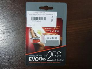 256 gb microSD Samsung evo plus,  срочно!
