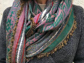 Шарфы и платки из Индии - 100% хлопок, шёлк и шерсть!