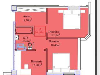 Vind apartament 2 camere Nicola Costin 48