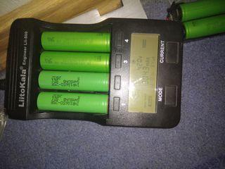 Акамулятор 18650 подходят для електро инструментов и електронных сигарет