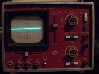 осциллограф переносной Q - 54