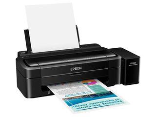 Imprimanta epson l132 a4 usb color inkjet / 0% în 3 rate/ принтер epson l132 a4 usb цветной струйная