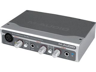 Vind microfon profesional si audio-interface.original de studiou M-Audio// продденсаторный студийный