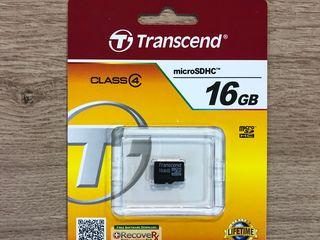 MicroSD Transcend 4/8/16GB