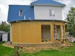 Пристройки,мансарды,перегородки,перекрытия,веранды,расширение площади домов без усиления фундамента