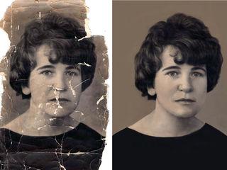 Реставрация / восстановление старых фотографий / restaurarea / restabilirea fotografiilor vechi