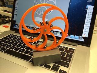 Печать пластика  на 3d принтере , сканирование объектов