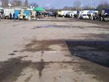 Pavilioane comerciale & parcare auto