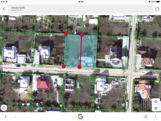 Vind teren construcții 5 ari com.Gratiesti/ Loc de casa  zona rezidențiala