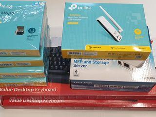 TP-Link USB WiFi - TL-WN725N + TL-WN722N / Print Server / Componente PC