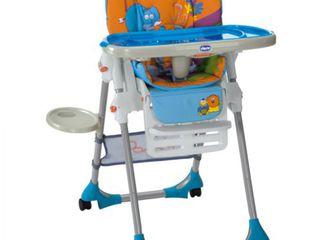 Scaun nou de masa pentru copii chicco polly 2x1 safari 4 roti - doar 2261 lei