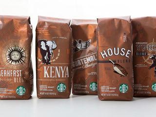 8 Кофе в зернах от мирового производителя starbucs