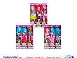 Игрушка кукла Монстер Хай 910 A кукл хаи высота куклы  25 см размер упаковки  24 x 6 x 4.5 см.