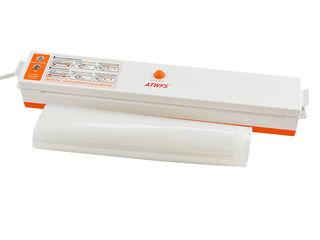 Вакуумный упаковщик с компрессором (вакууматор) для домашнего использования + 10 пакетов в подарок!