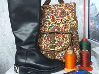 Ремонт и реставрация обуви и сумок.