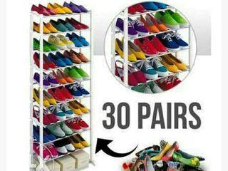 Полочки для обуви Amazing shoe rack  это прекрасное приспособление для всех Ваших вещей.