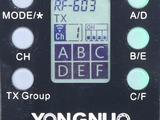 Yongnuo rf-605 rf605 новый синхронизатор триггер !! новинка !
