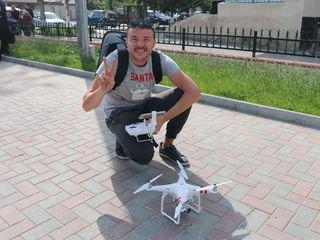 Съемка дроном, filmari cu drona mavic pro 4k