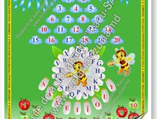 Alfabetul romanesc, invatam sa numaram, axa numerica, calendarul naturii, calendarul zilei