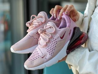 Nike Air Max 270 Pink & Bordo женские