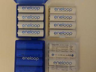 Аккумуляторы Panasonic, Eneloop, Fujitsu, LG. Зарядки Japcell, Maha, Technoline, LiitoKala