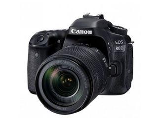 Aparat foto canon eos 80d produs nou / фотоаппарат canon eos 80d